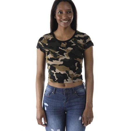 a4f4c6d65bf army print crop top TOP 10 searching results