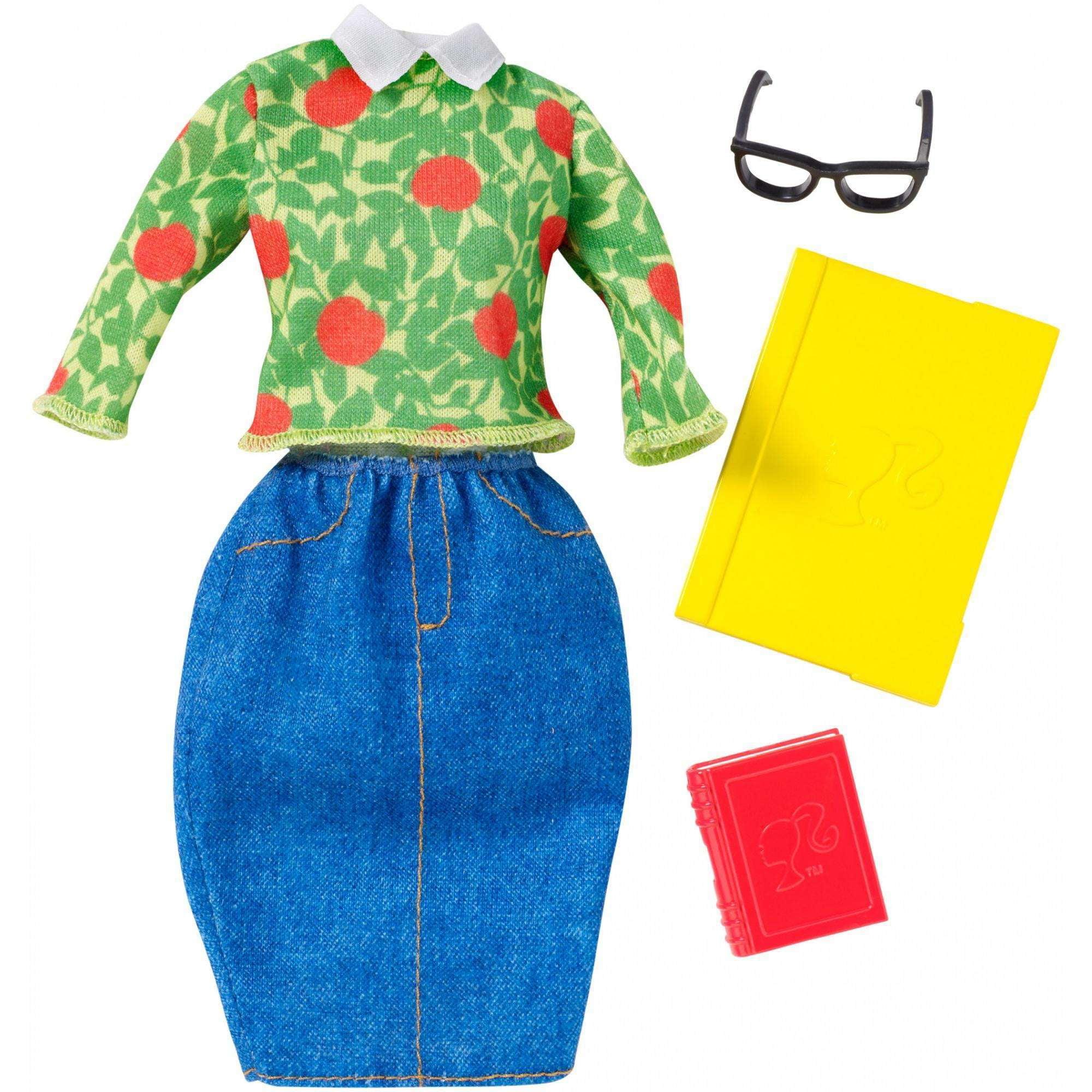Barbie Career Teacher Fashion Pack by Mattel