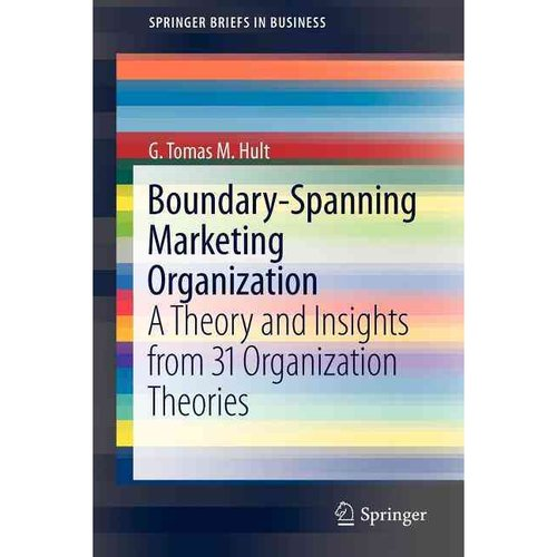 theoretical review of marketing A theoretical review of organizational responsiveness in marketing literature:  definitions, theoretical support and determinants 1 introduction marketing.