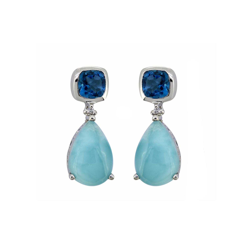 Drop Rainbow Moonstone and Labradorite earrings  long gemstone earrings  wedding earrings   Grace Lilly Designs