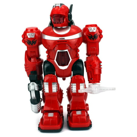 Android General Children's Toy Robot Figure w/ Lights, Sounds, Realistic Walking Action (Colors May Vary)