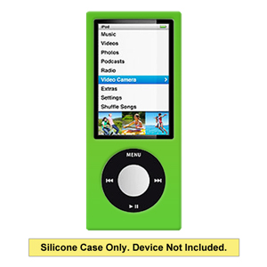 Premium Polished Green Snap On Hard Shell Case for iPod Nano 5th Gen