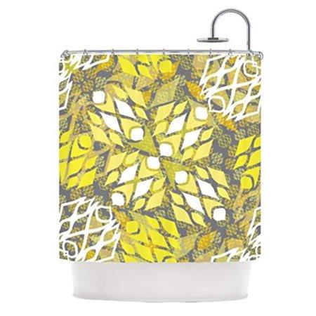 Kess Inhouse Miranda Mol Sandy Signs Shower Curtain  69 By 70 Inch
