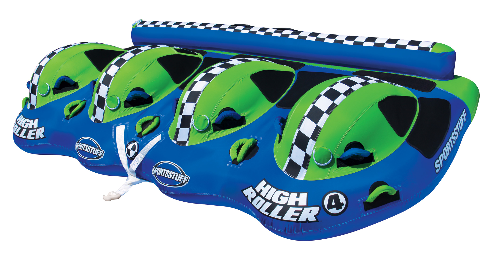 Click here to buy High Roller 4 Rider Towable by AIRHEAD SPORTS GROUP.