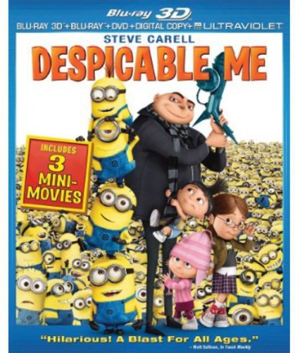 Despicable Me (Blu-ray + Blu-ray + Digital Copy)