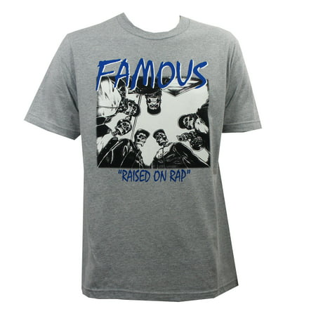 Famous Stars   Straps Mens Swa T Shirt Heather Grey