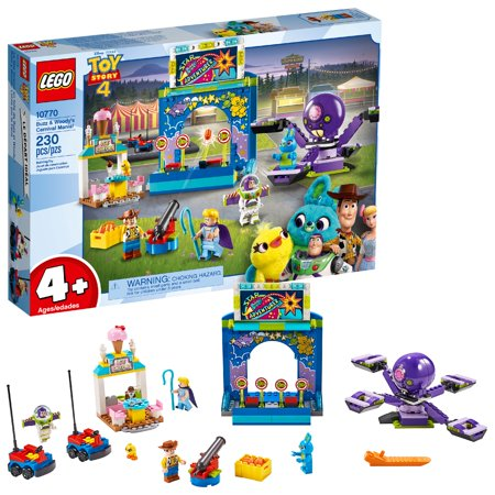 LEGO 4+ Toy Story 4 Buzz & Woody's Carnival Mania! 10770