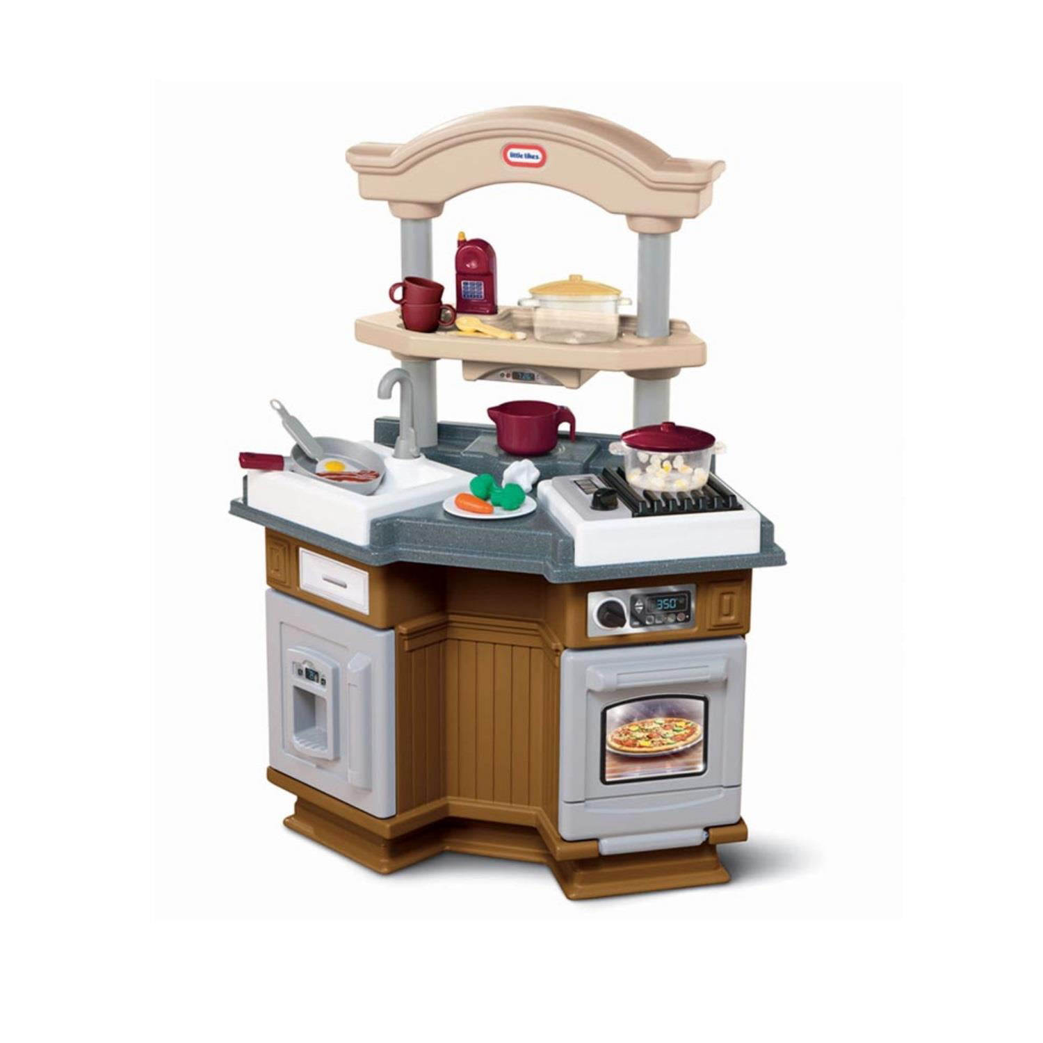 Sizzle \'n Pop Kitchen - Brown/Tan - Walmart.com