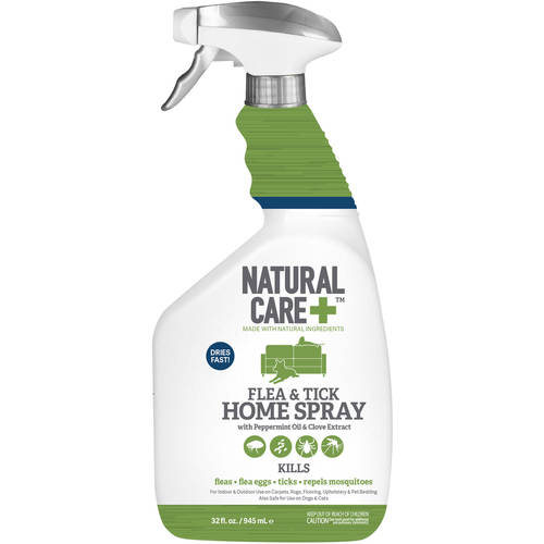 Natural Care+ Flea & Tick Home Spray, 32 Oz.