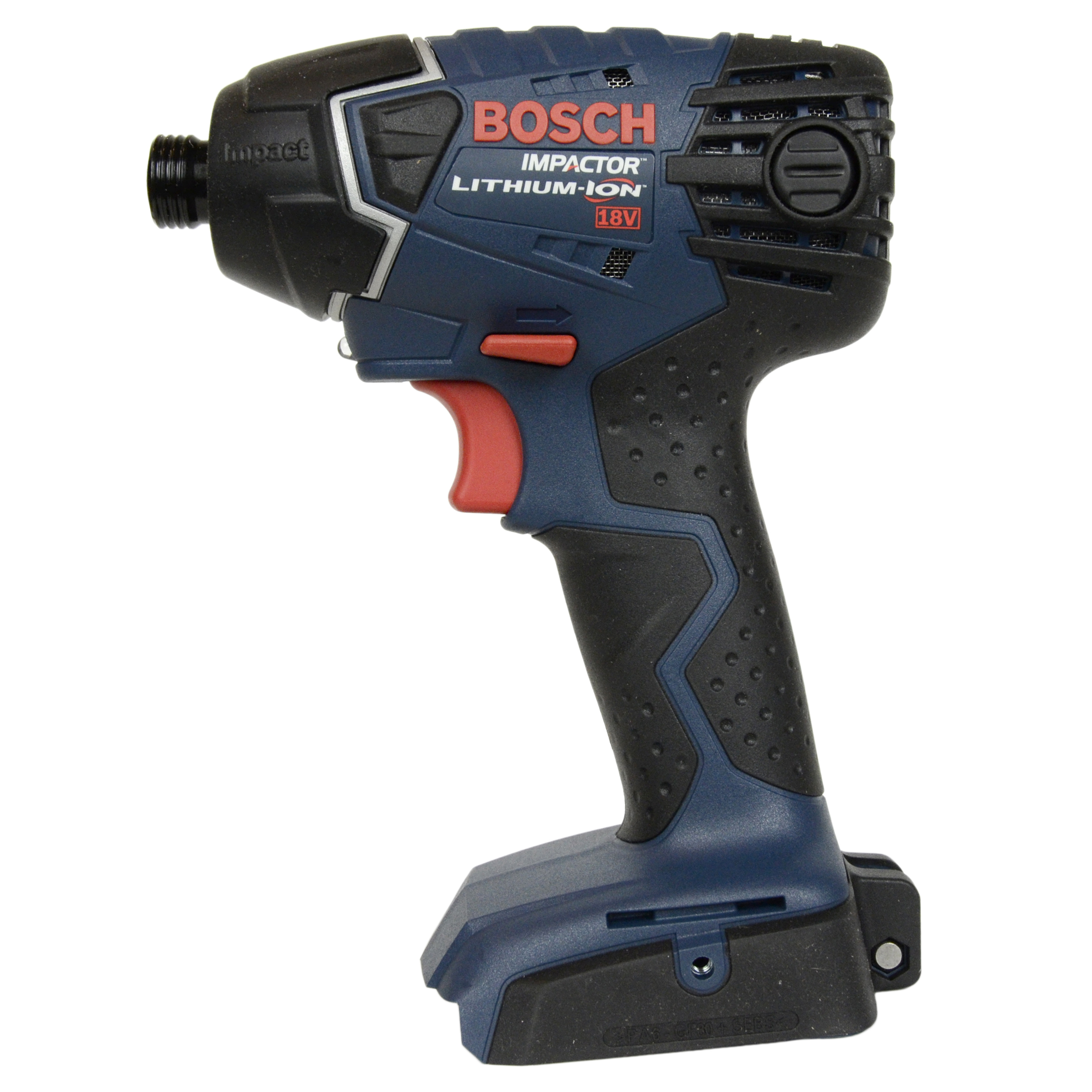 "Bosch Tools 25618B 18V Lithium-Ion 1/4"" Hex Impact Driver, Bare Tool"