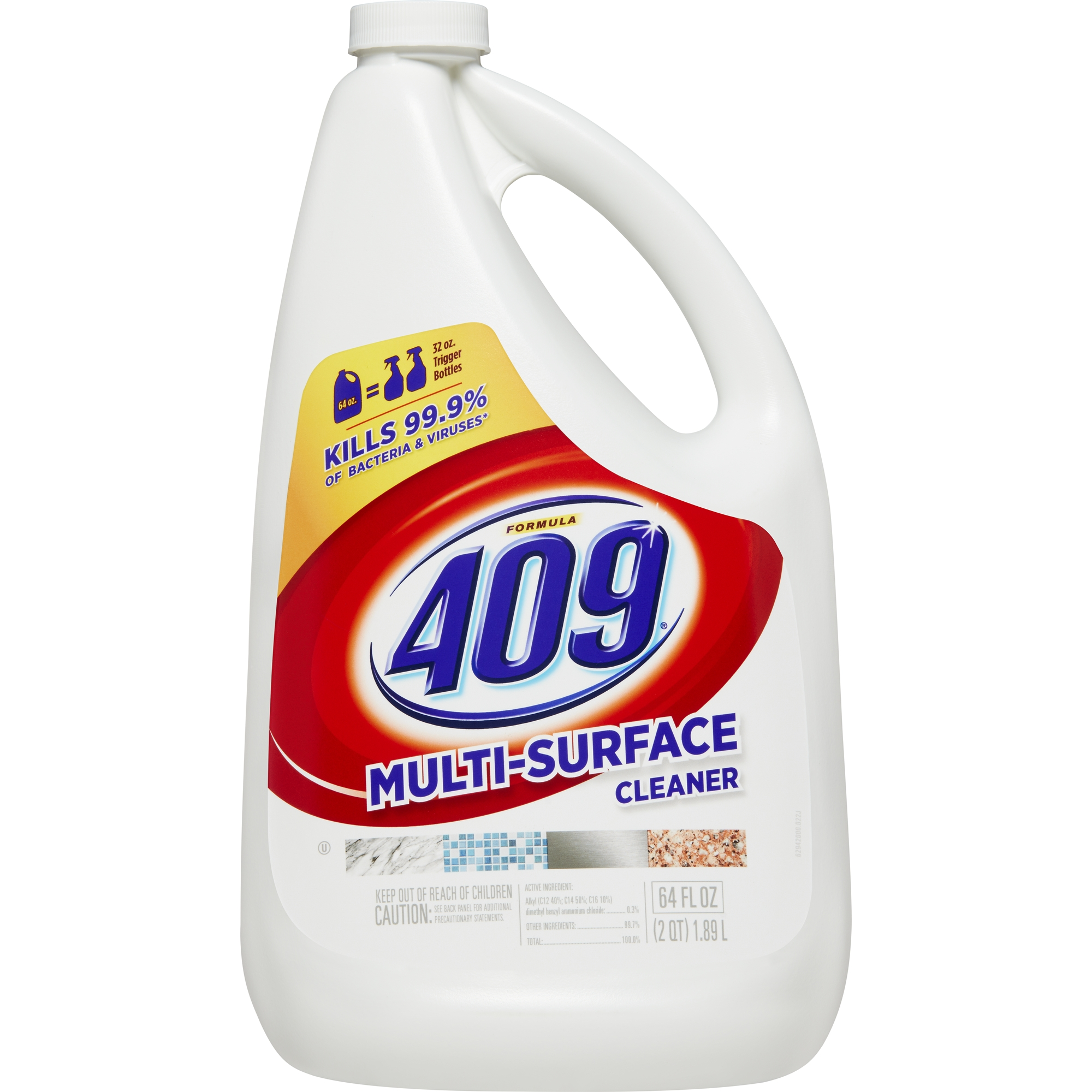 Formula 409 Multi-Surface Cleaner, Refill Bottle, 64 oz