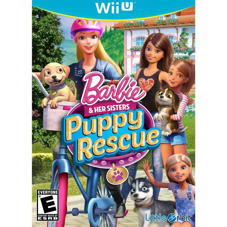 Barbie Puppy Rescue (Wii U) - Pre-Owned