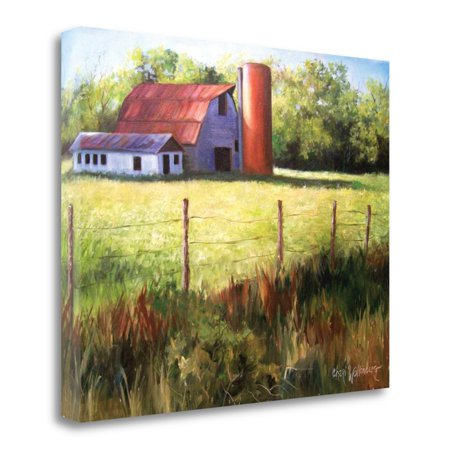 Tangletown Fine Art Ark Barn Revised Canvas Wall Art - Walmart.com