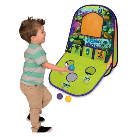Playhut TMNT Triple Shot Game - Teenage Halloween Party Games Ideas