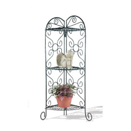 Zingz & Thingz 57070256 Scrollwork Corner Plant Stand