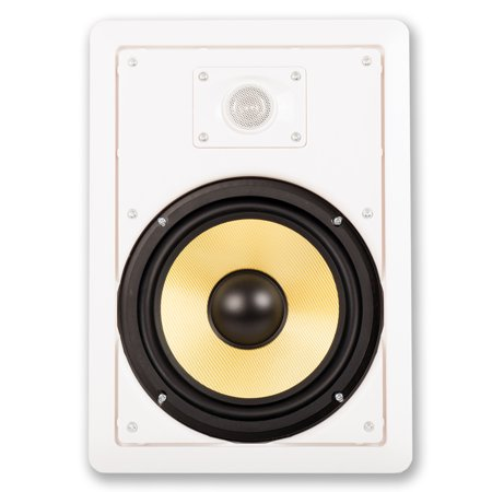 """Acoustic Audio HD-800 Flush Mount In Wall Speakers with 8"""" Woofers 6 Pair Pack - image 3 of 4"""