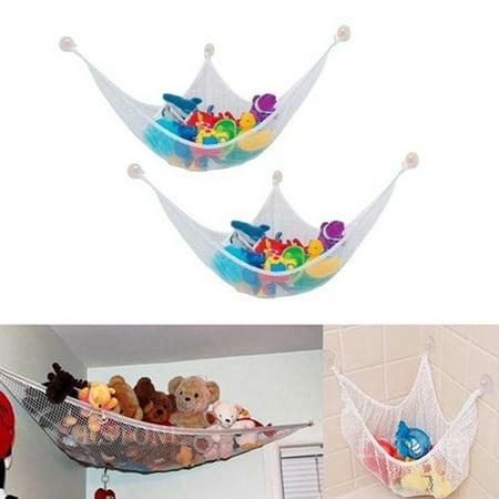 Hicoup Hanging Organizer Kids Toy Storage Net Stuffed Plush Doll Hammock Save E
