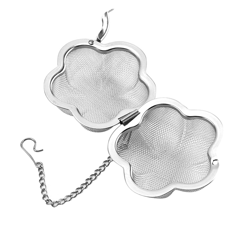 luosh Tea Infuser,Stainless Steel Spoon Bulk Loose Tea Leaves Mesh Ball Infuser Filter Strainer