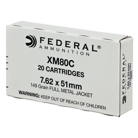 Federal 7.62X51MM 20 Rounds