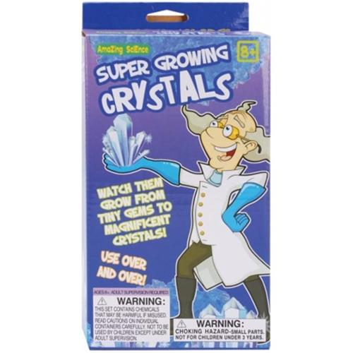 The Philadelphia Group 800978 Mad Science Super Growing Crystals Kit