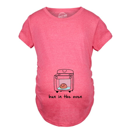 Maternity Bun In The Oven T shirt Funny Pregnancy Announcement Tee - Halloween Pregnancy Announcement Shirt