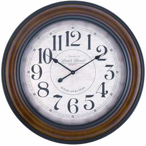 Cooper Classics Payton 32-in. Wall Clock