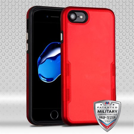For iPhone 7 / 8 TUFF Contempo Shockproof Impact Armor Protector Case Cover