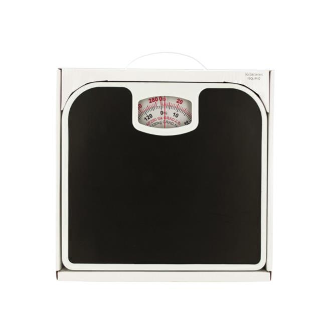 Bulk Buys OD890 2 Mechanical Bathroom Scale With Non Skid Surface