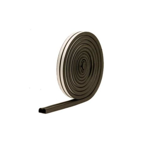 "M-D Products 01025 Black Marine and Auto EPDM Weatherstrip, 5/16"" x 11/32"" x 17"