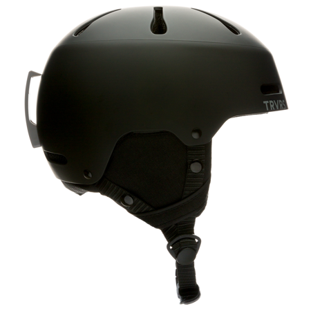 Traverse Sparrow Youth Ski, Snowboard, and Snowmobile Helmet, Matte Black, Small (52-55cm)