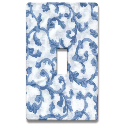 HomePlates Worldwide Damask Decorative Light Switch Cover - Single Toogle Switch