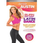 Denise Austin: Burn Fat Fast Latin Dance (Widescreen) by Trimark Home Video