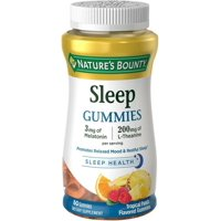 Nature's Bounty Sleep Gummies, Tropical Punch Flavored 60 Each