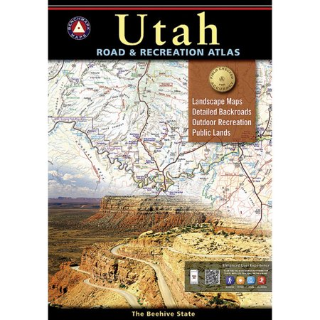 Utah Road & Recreation Atlas: 9780929591353