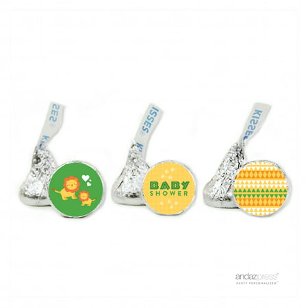Party  Jungle Safari Baby Shower Hershey´s Kisses Favor Labels, - Jungle Safari Golf