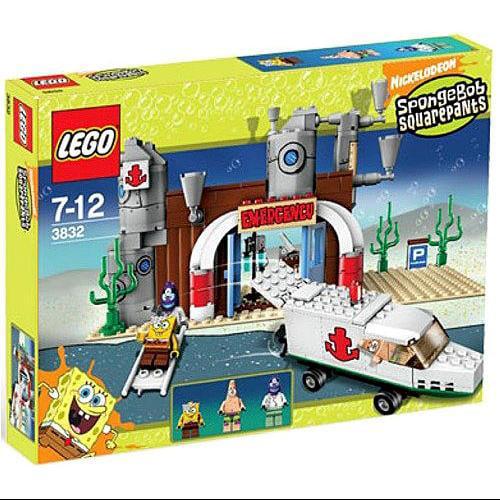 Lego Spongebob Squarepants Emergency Room Set #3832 by