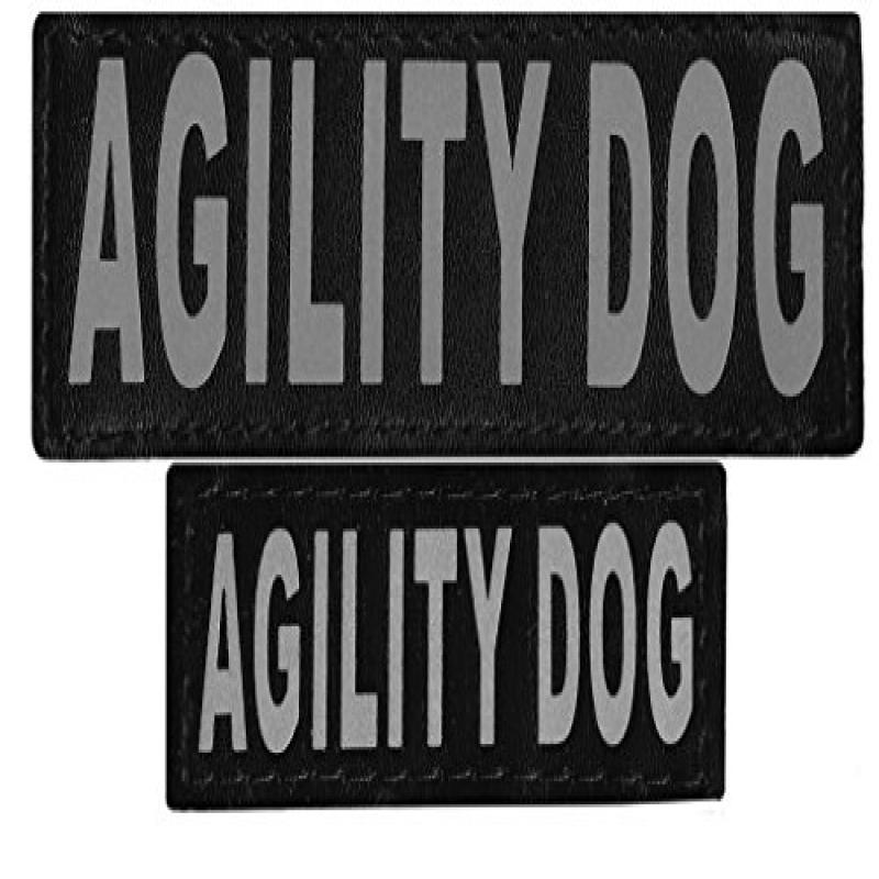 "Removable Velcro Patches ""AGILITY DOG"""