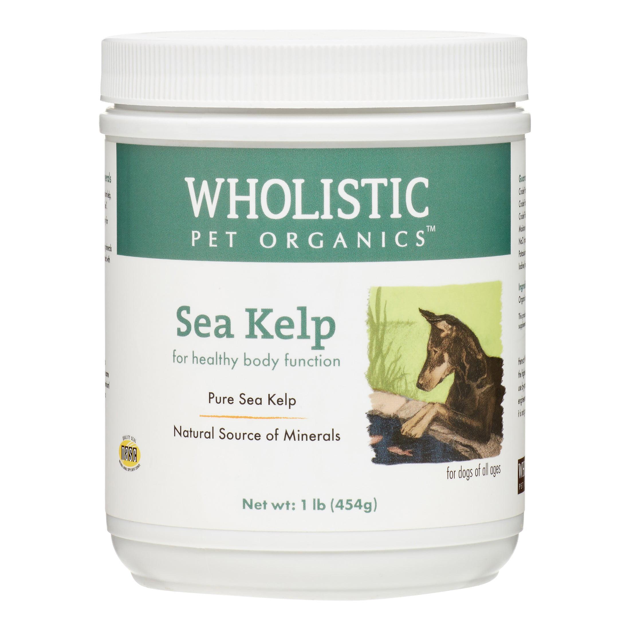 Wholistic Pet Organics Sea Kelp Healthy Body Function Dog Supplement, 1 Lb