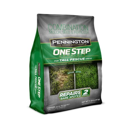 Pennington One Step Complete Tall Fescue Grass Seed; 5