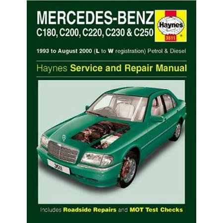 Mercedes-Benz C-Class Petrol & Diesel Service and Repair Manual (Haynes Service and Repair Manuals) (Paperback) (Mercedes 300td Service Manual)