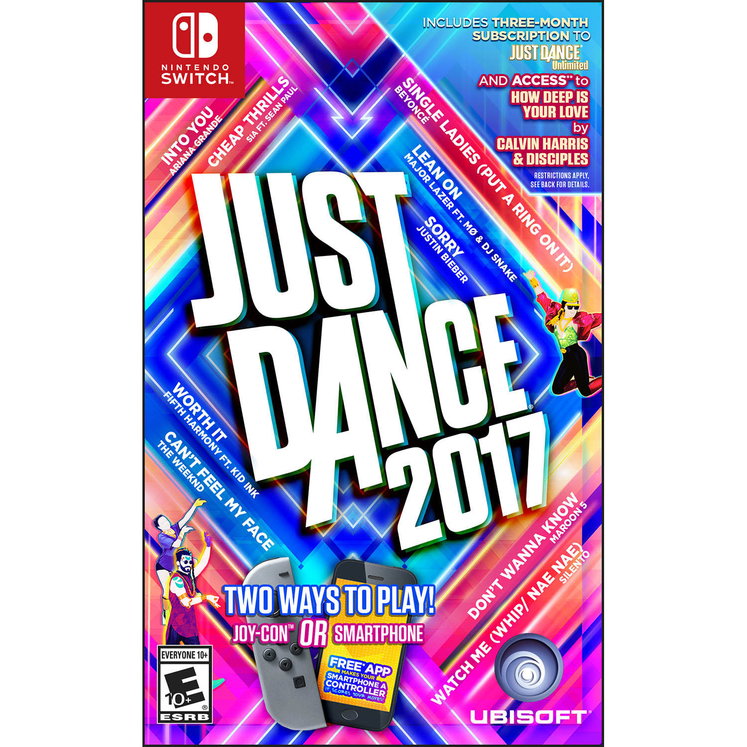 Ubisoft Just Dance 2017 - Pre-Owned (NSW)