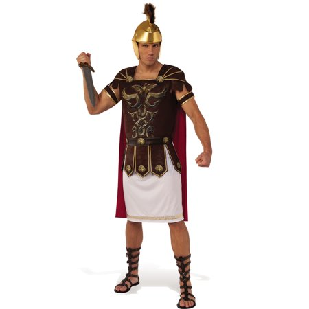 Marc Anthony Adult Men Roman General Soldier Halloween Historic Costume-Std](Roman Solider Costume)