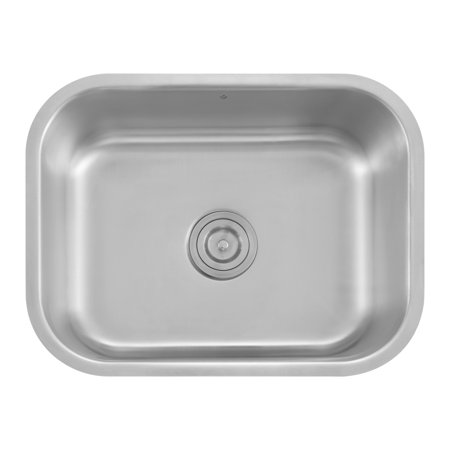 Z Series Stainless Steel Single Bowl Undermount Kitchen Sink MILAN ...