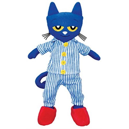 merrymakers pete the cat bedtime bluesplush doll, 14.5-inch](Pete The Cat Doll)