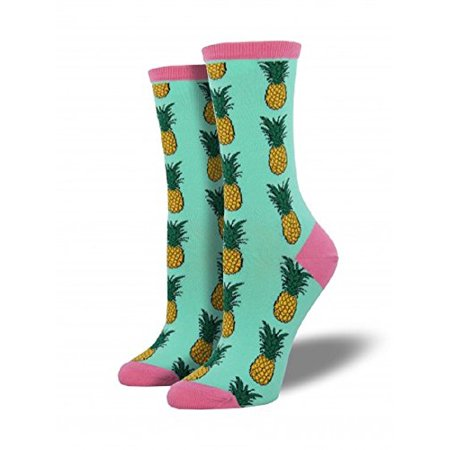 Socksmith Womens Pineapple Wintergreen, Multi, One Size