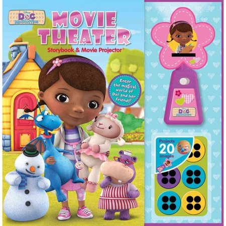 Disney Doc Mcstuffins Movie Theater Storybook + Movie Projector