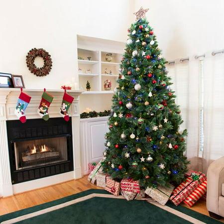 Ashland Christmas Trees.Ultima Ashland 7 5 Ft Prelit Artificial Christmas Tree