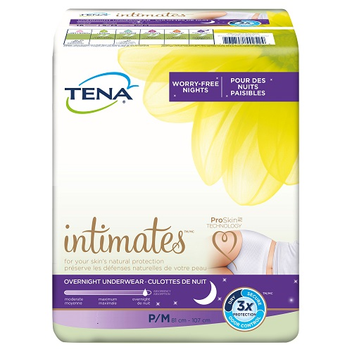 TENA Intimates Overnight Underwear Large, 56 Count