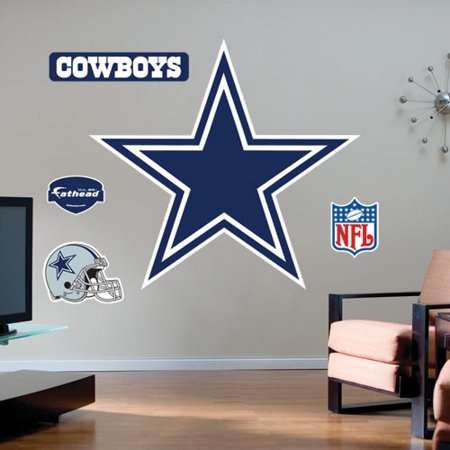 Dallas Cowboys Team Logo Fathead Wall Sticker - No