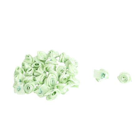 Artificial Handbag (Accessories Satin Artificial Handbag Decorative  Flower Rose Green 20)